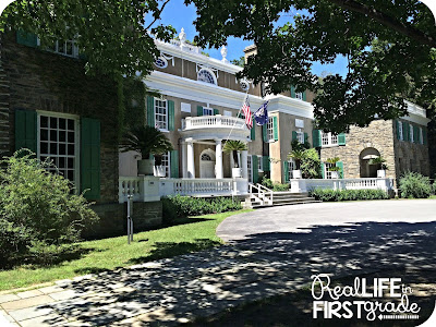 FDR's Mansion in Hyde Park, NY