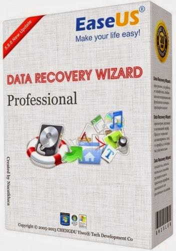 تحميل عملاق استرجاع الملفات EaseUS Data Recovery Wizard Free Edition 8.8