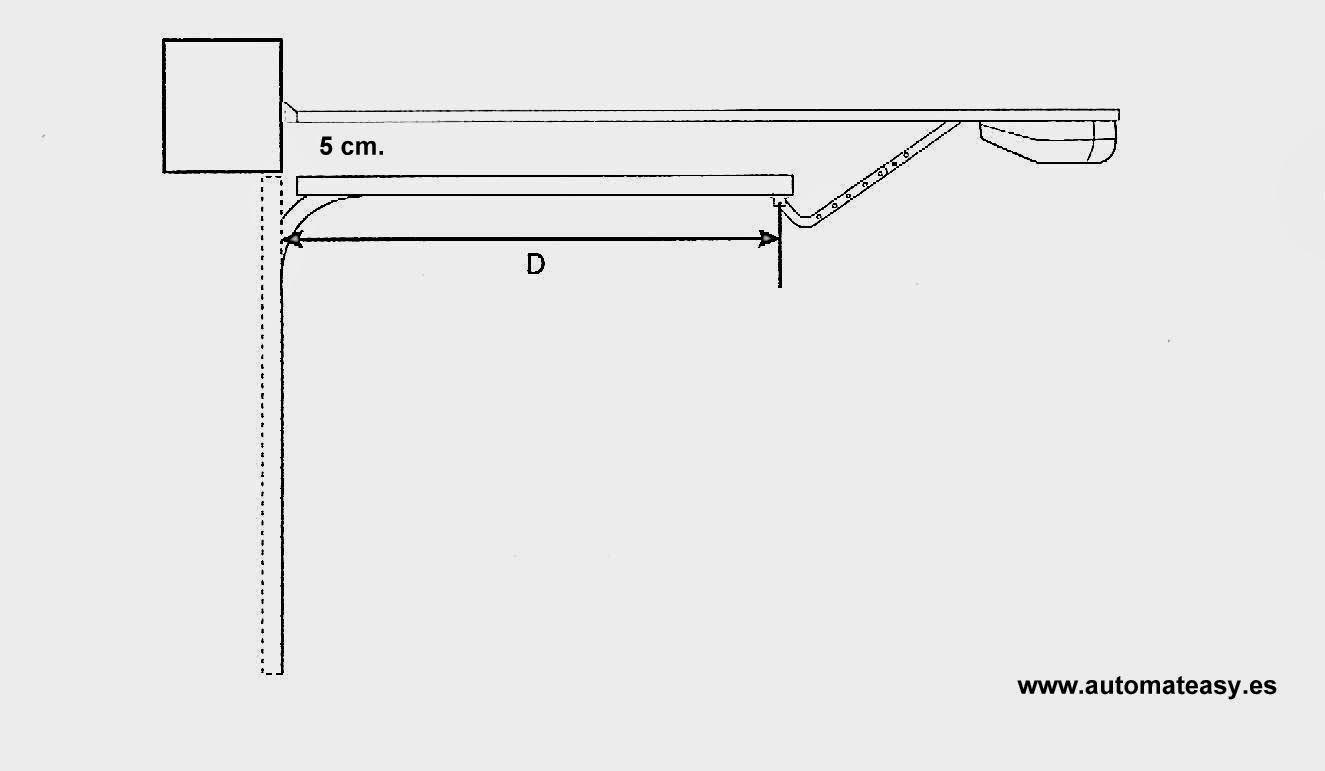 Puertas de garaje con motor great puertas basculantes - Motor puerta garaje seccional ...