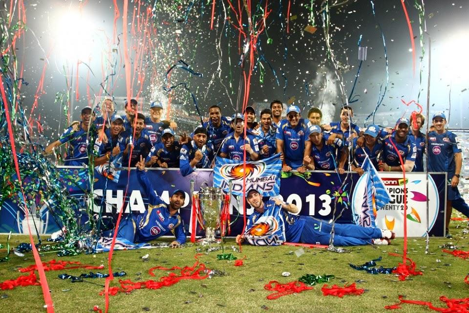 Karbonn smart champions league twenty20 champions mumbai indians