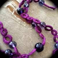 https://www.etsy.com/listing/170647280/tatted-necklace-with-glass-beads-purple?