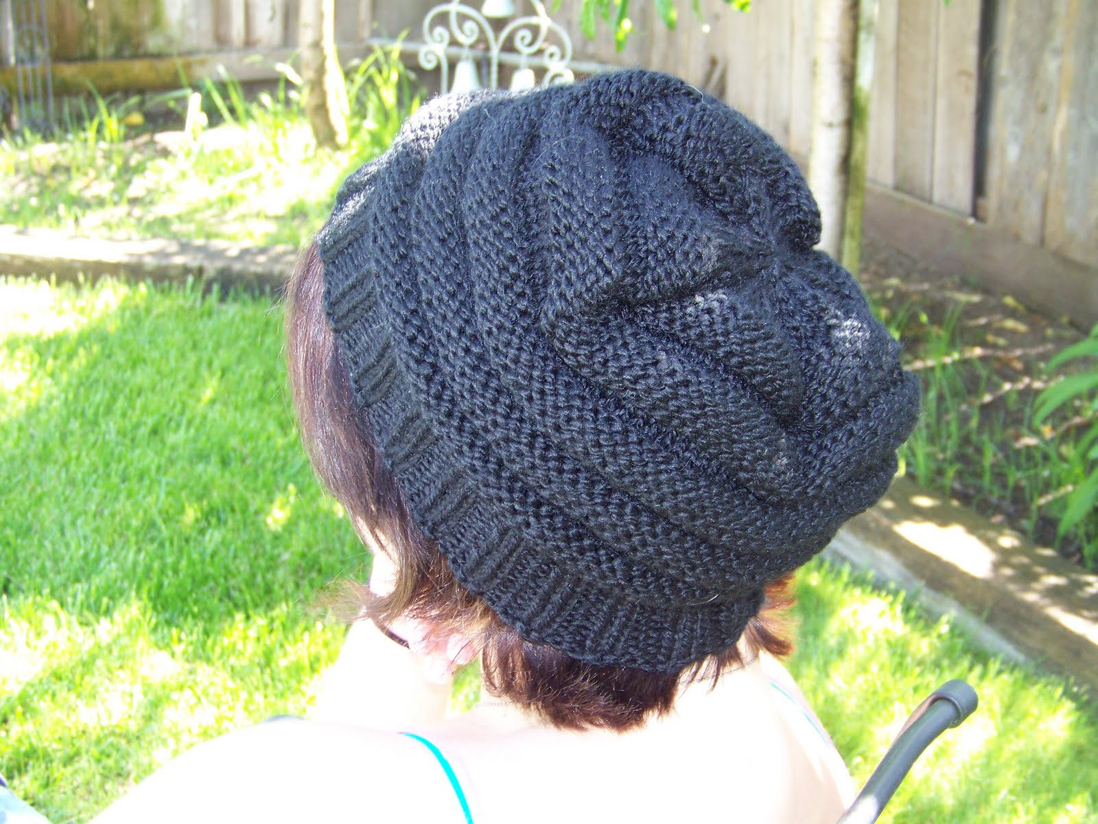 Knitting Terms Pm : On stefanie s crafty side ariel beehive hat