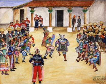 Pintura Maya Primitivista (Video)