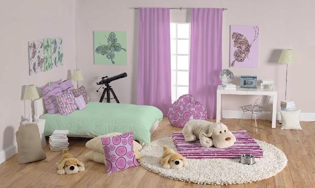 Chambre fille couleur lilas for Chambre youtubeuse beaute
