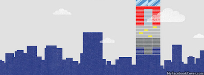 Abstract City Facebook Cover