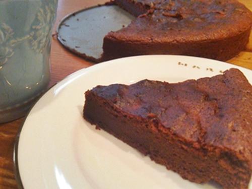 eimy店長の手作りチョコレートケーキ