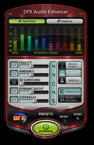 Free DFX Audio Enhancer v11.1 full version