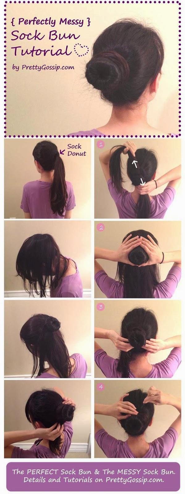 Coiffure facile pour cheveux mi long
