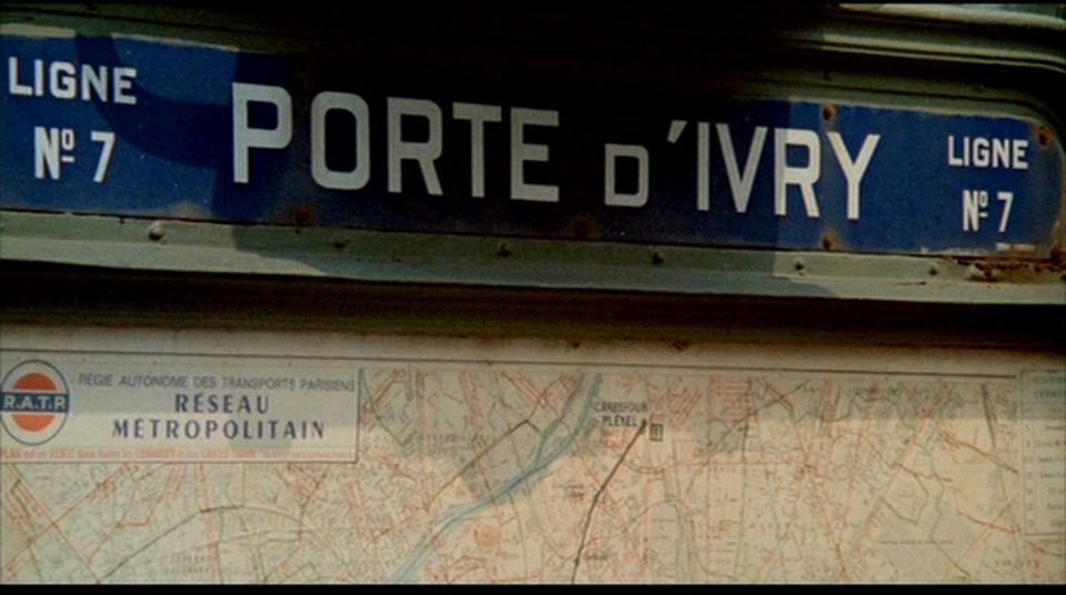 Movie tourist le samourai 1967 - Metro porte d ivry ...