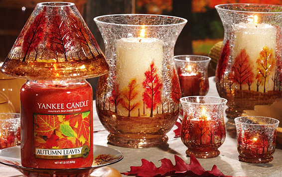 Autumn Lights Picture Autumn Leaves Yankee Candle