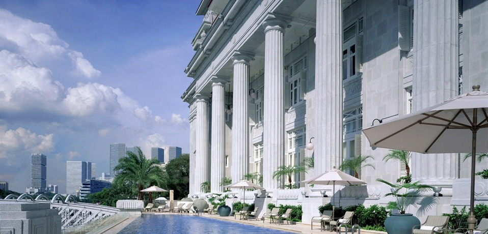 Five Star Hotels The Fullerton Hotel Singapore SINGAPORE