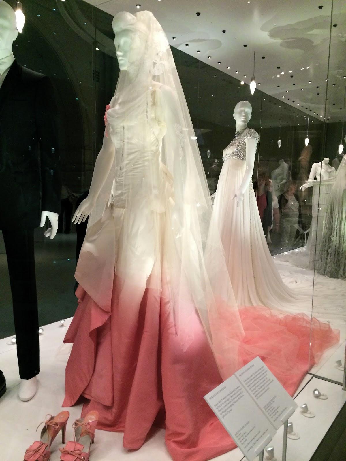 Love life in wedding dresses at the va john galliano for dior gwen stefanis wedding dress 2002 junglespirit Gallery