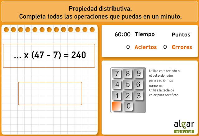 Propiedad distributiva 2