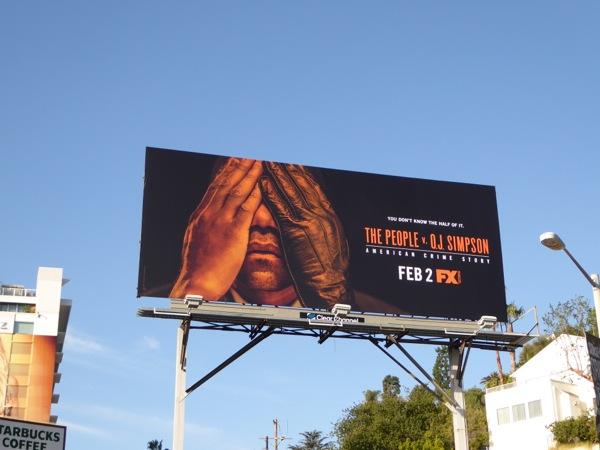 People vs OJ Simpson series premiere billboard