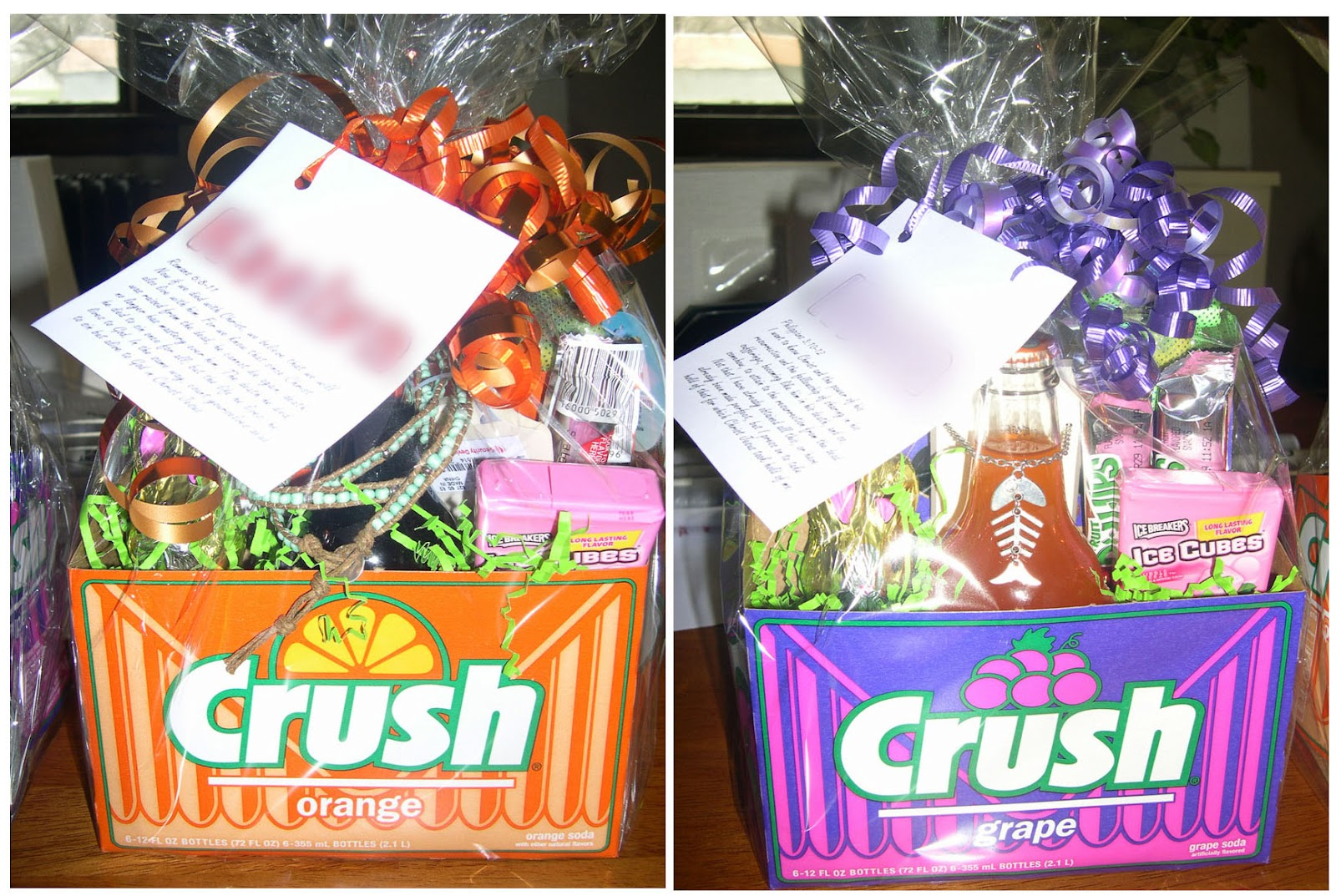 Whats on my porch teen ster baskets easter basket idea for teenagers negle Images