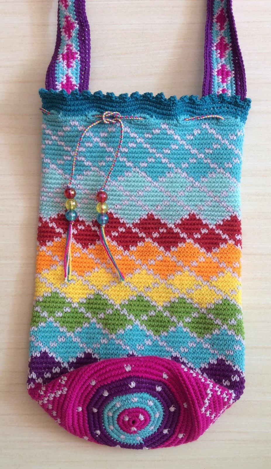 The moody homemaker tapestry crochet water bottle carrier holder tapestry crochet water bottle holder bankloansurffo Choice Image