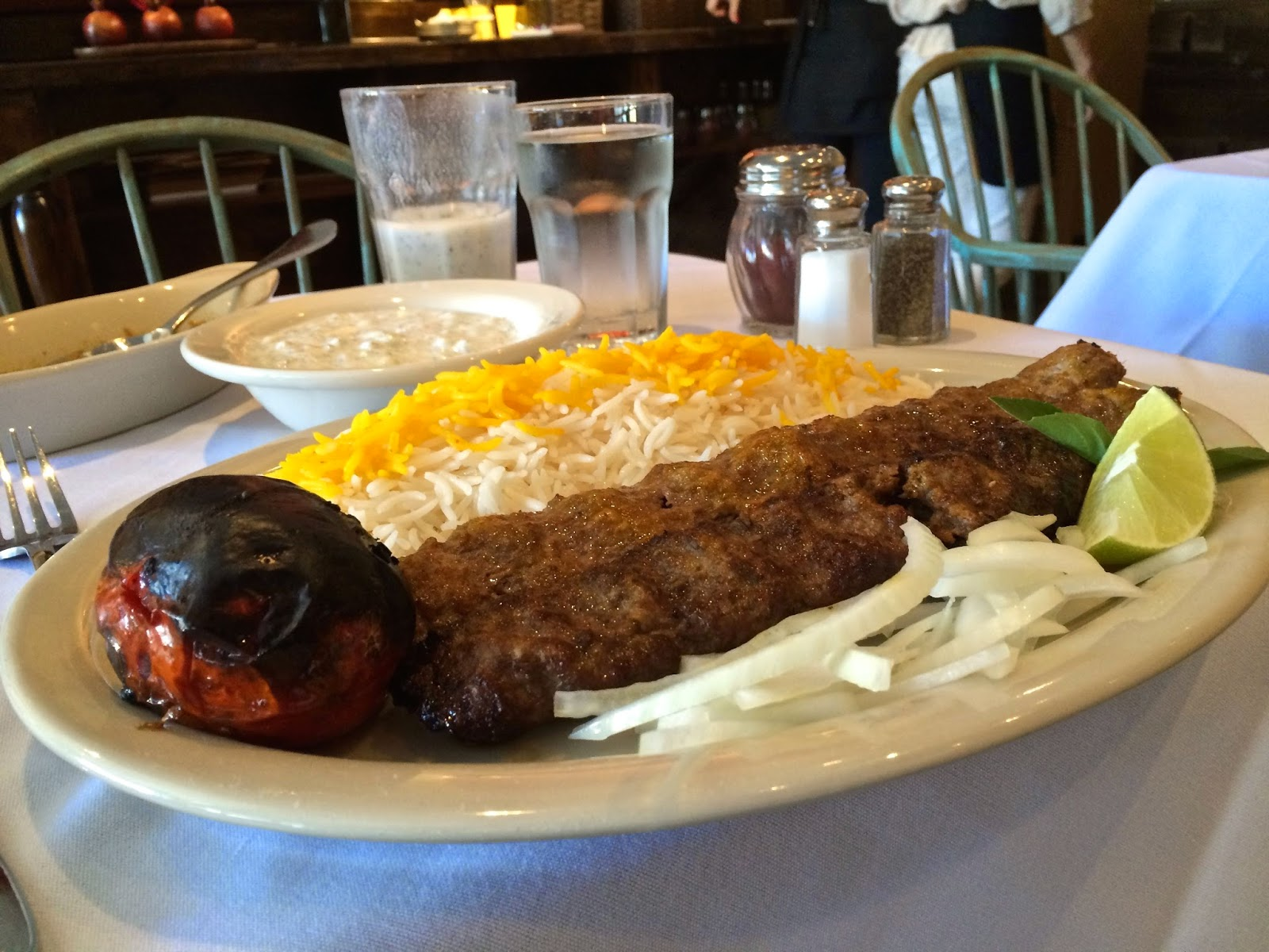 Koobideh Kabob at Anar in San Francisco