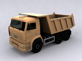 Heavy Truck 3dsMax model complete with texture free download