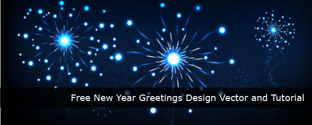 free latest new year greetings design