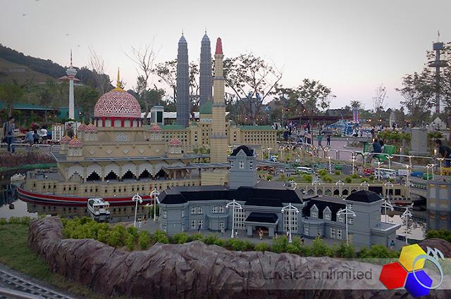 mknace unlimited™ | legoland getaway 12/9 : lego miniland masjid putra