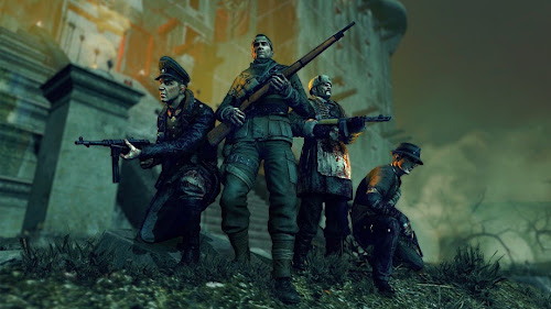 Screen Shot Of Sniper Elite Nazi Zombie Army 2 (2013) Full PC Game Free Download At Downloadingzoo.Com