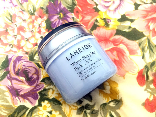 Laneige Water Sleeping Pack/mask review