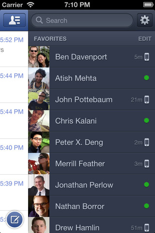 screenshot 2 Facebook Messenger v2.1