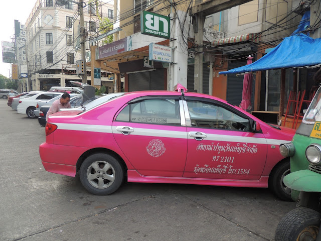 Colourful Taxis