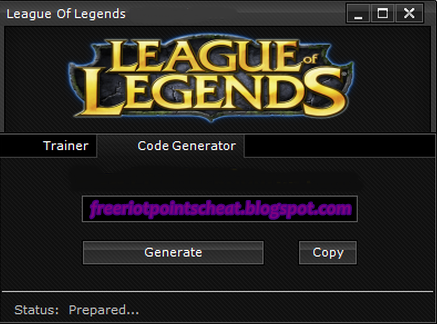 Download Free Riot Points Generator