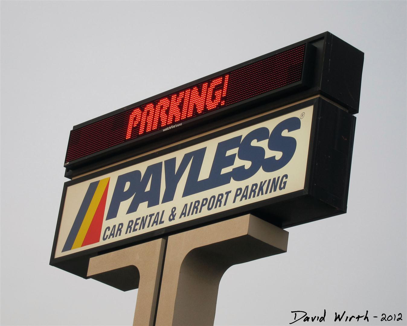 payless car