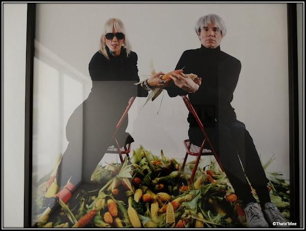 Séville : Centre Andalou d'Art Contemporain Warhol et corns maïs dénonciation