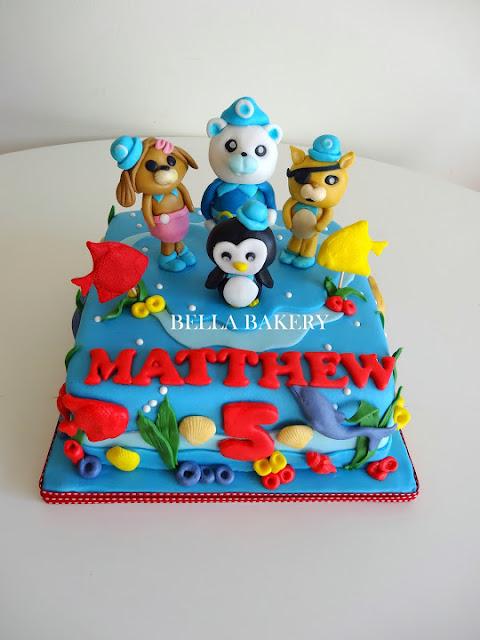Octonauts Cake Decorations Uk : -: OCTONAUTS CAKE