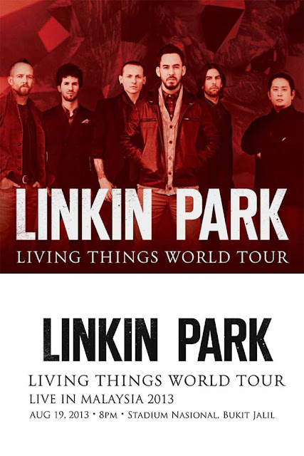 Linkin Park 'Living Things' Live In Malaysia 2013