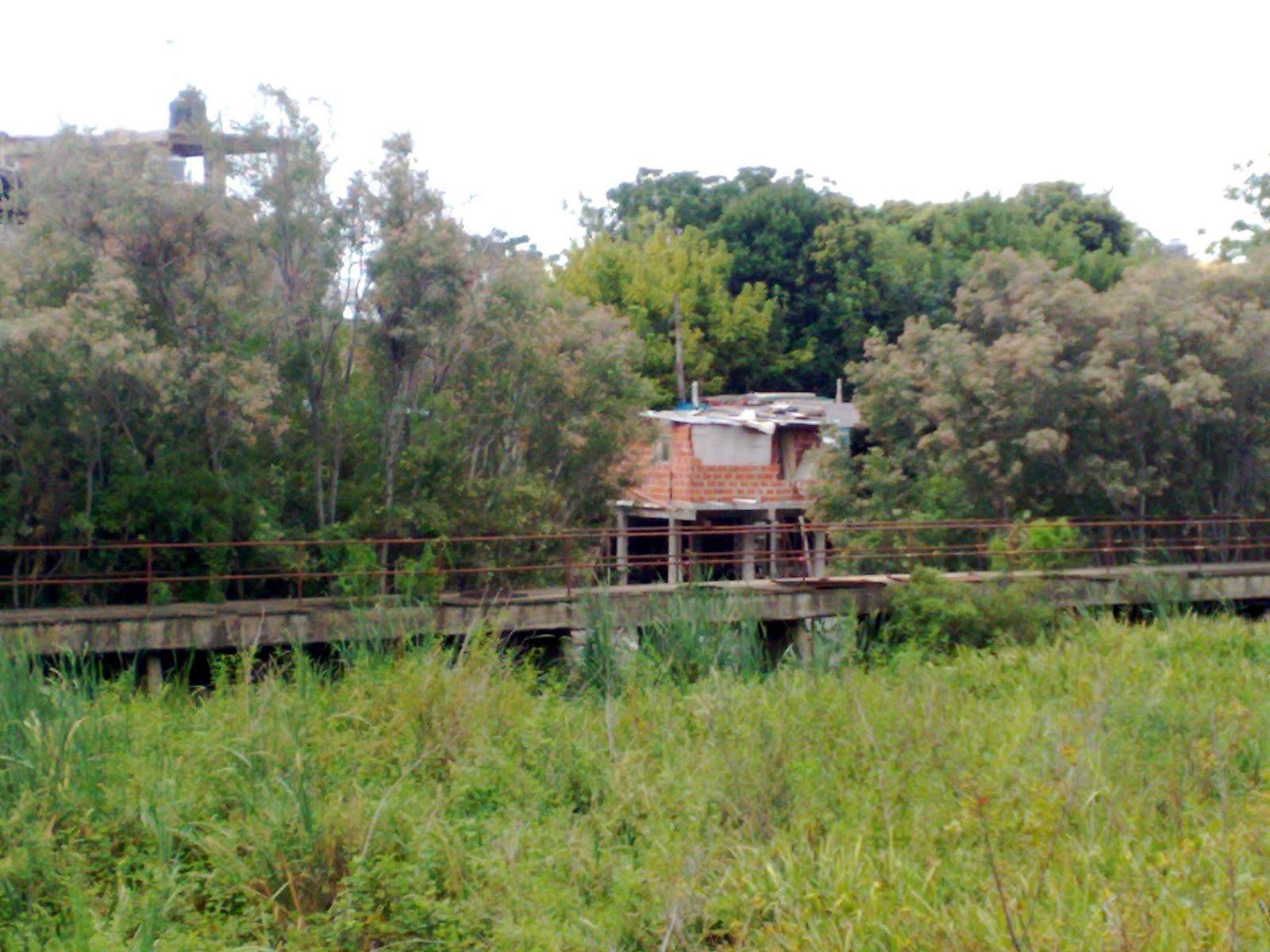 Pensando la bronca lugares abandonados Villa jardin donde queda