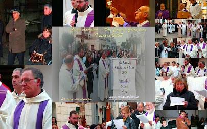 Come eravamo... Via Crucis per le vie cittadine di Oria  9 marzo 2008