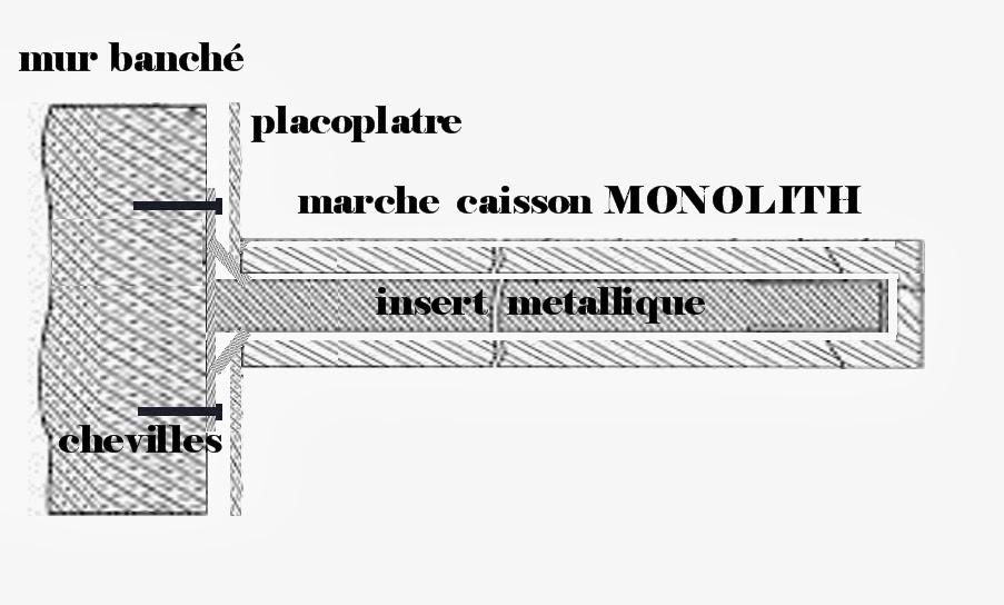 les escalier suspendu escalier suspendu tarif et systeme de fixation sur un mur en parpaings creux. Black Bedroom Furniture Sets. Home Design Ideas