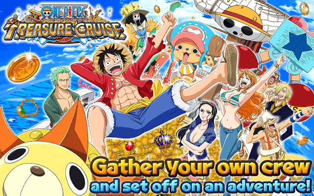 ONE PIECE TREASURE CRUISE Gameplay IOS / Android