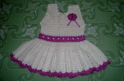 Fotos de Vestidos de Crochê Infantil