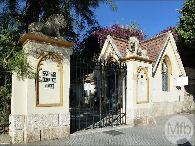 Entrada Cementerio Inglés Málaga