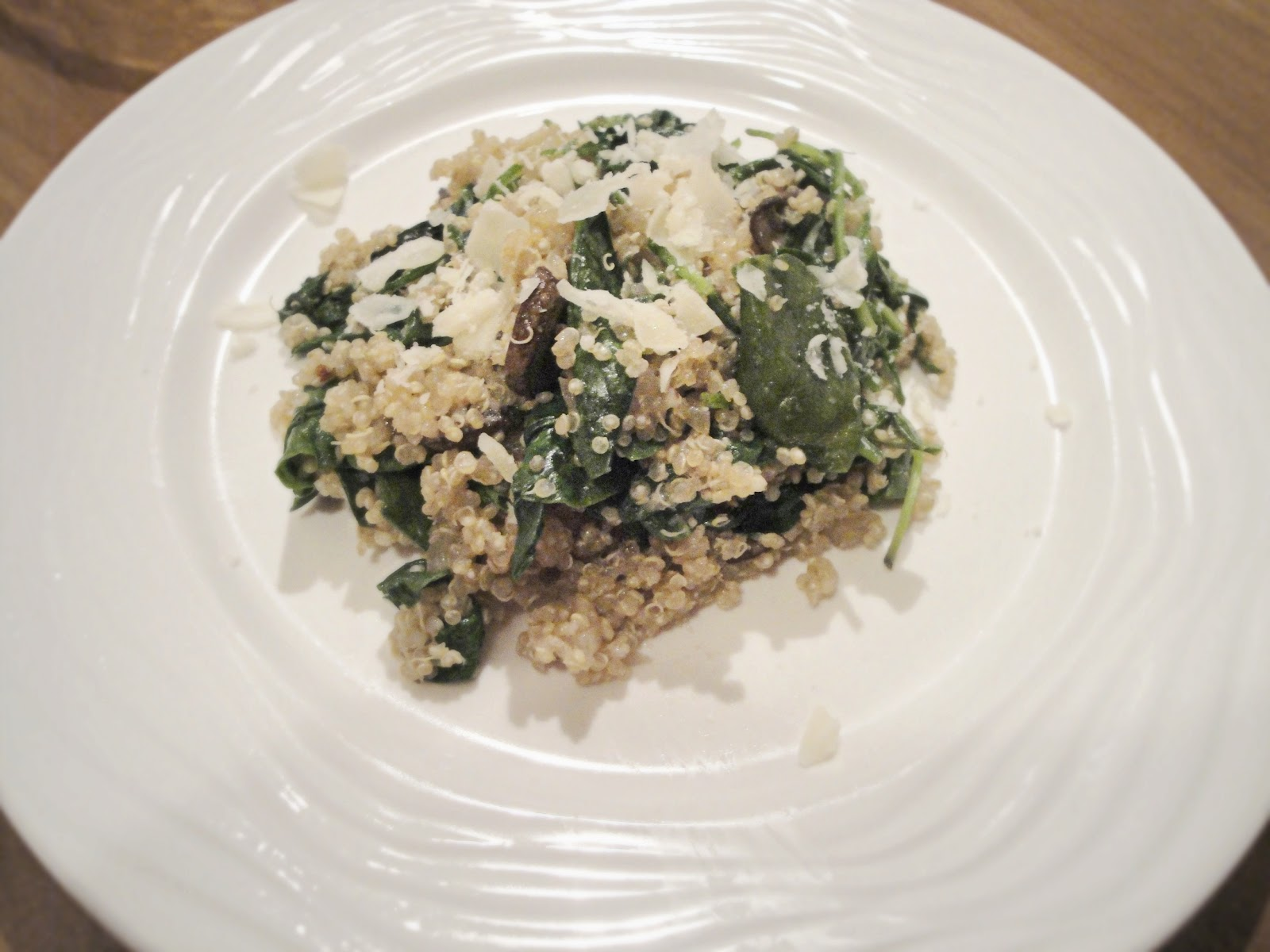"Food, Love, & Life: {recipe} quinoa ""risotto"" with mushrooms &a..."