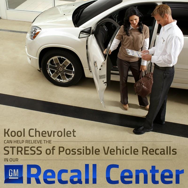 Kool Chevrolet Vehicle Recall Center