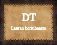 Lauran korttihaasteen DT-nappi