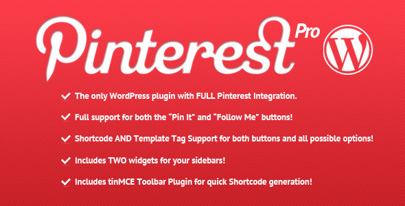 Image for Pinterest Pro Plugin by CodeCanyon