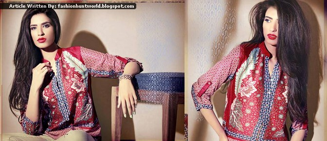 Ethnic By Outfitters Spring / Summer 2015 Collection - Ready To Wear Designs