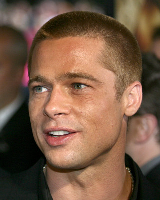 brad pitt fight club buzz cut - photo #21
