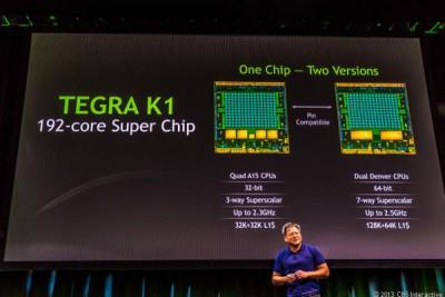 Nvidia Perkenalkan Kartu Grafis 'Tegra K1