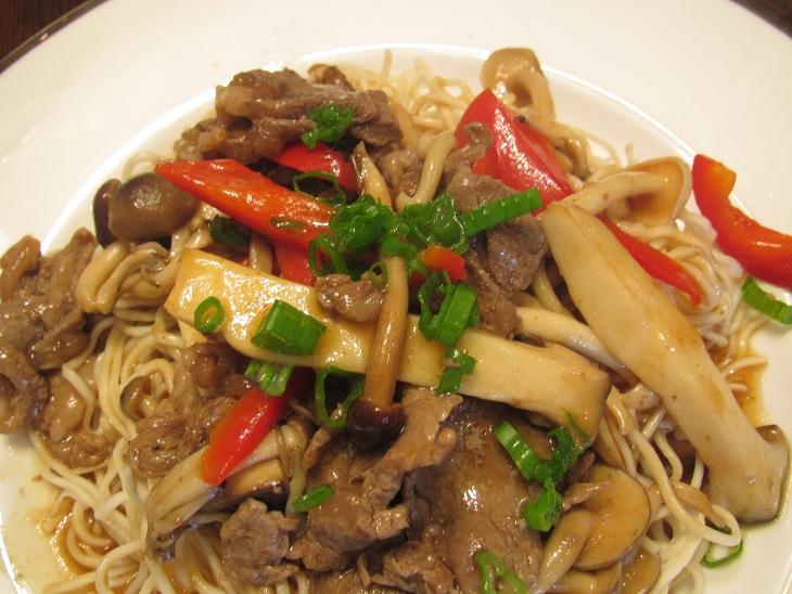 Ramen Noodle Hong Kong Style