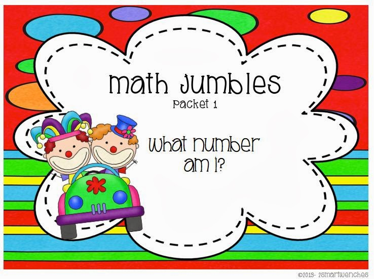 http://www.teacherspayteachers.com/Product/Math-Jumbles-Packet-1-796572