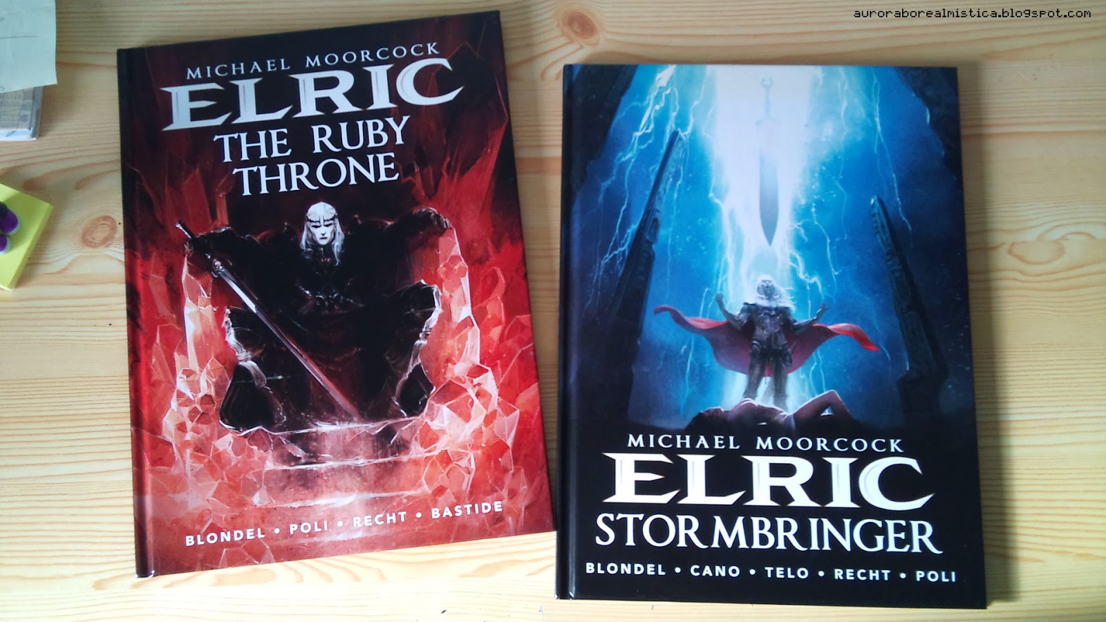 AURORA WALL: ELRIC -The Ruby Throne//Stormbringer- comic review