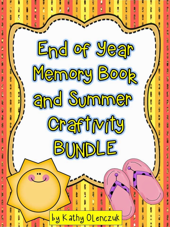 http://www.teacherspayteachers.com/Product/End-of-Year-Memory-Book-and-Summer-Craftivity-688066